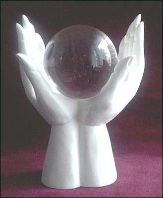 Как сделать хрустальный шар своими руками
