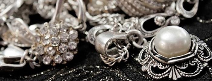Восточные серебряные украшения с натуральными камнями